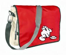 SIMON'S CAT Messenger Bag, SIMONS KATZE hungry Tasche.