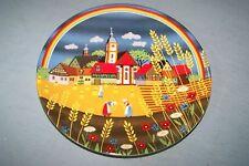 Vintage NOS German E&A BOCKLING collector plate #5 FRANKISCHER SOMMER
