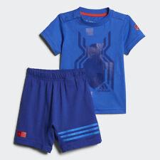 Adidas Marvel Spider-Man Summer Set Infant Kids T-Shirt & Short Full Set