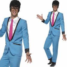Para Hombre 1950 Teddy Boy Fancy Dress Costume - 50 Años Rock N Roll Traje Fifties Outfit