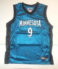 Minnesota Timberwolves Boys Youth Jersey Ricky Rubio #9 NWT