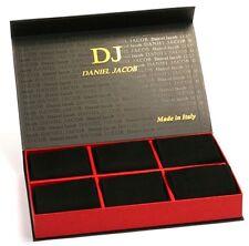 Pack of 12 Pair Men's Black Mid-Calf Socks in Luxury Box 100%Cotton