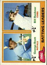 1981 Topps Baseball Cards Pick 1-415
