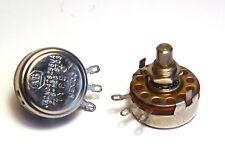 2x Allen Bradley Typ J Potentiometer, 2.5 MOhm, Sealed Variable Resistors, NOS