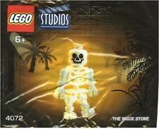 LEGO STUDIOS - SKELETON POLYBAG FIGURE + FREE GIFT - ULTRA RARE - SEALED