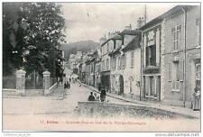 CPA 91 - JUVISY - GRANDE RUE ET RUE DE LA VIEILLE MONTAGNE - LA FRUITERIE LE RES