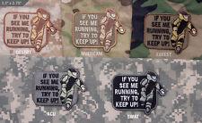 Mil Spec Monkey MSM EOD Running Patch Multicam-Woodland-Desert-SWAT-ACU