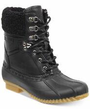 30f550adb8a512 Tommy Hilfiger Womens Rian 2 Faux Fur Closed Toe Mid-Calf Cold Weather Boots