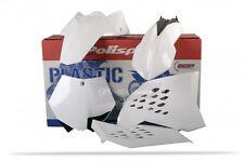 Plastic Kit KTM EXC 125/200/250/400/450/530 08-11 SX SXF 07-10 White Plastics