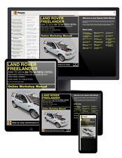Land Rover Freelander Diesel (Nov 2006-2014) 56 to 64 Haynes Online Manual