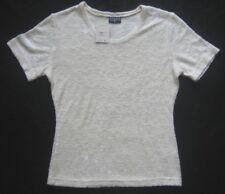Mills señora T-Shirt crema estampadas