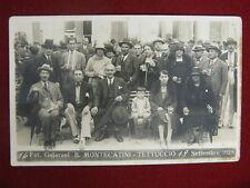 BAGNI DI MONTECATINI -Tettuccio 1928- no viagg, anim, anni 20  #10644