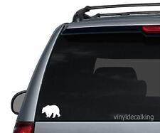 Bear Decal, Vinyl Truck, Boat, Hunting Window Stickers