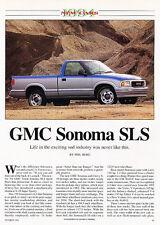 1994 GMC Sonoma SLS - Classic Article D102