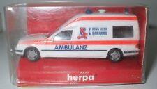 Herpa 044578 MB W210 E-Klasse Binz KTW Ambulanz 1:87