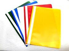 5 piezas Carpetas DIN A 4 blanco, rojo, azul, amarillo, verde looseleaf binders