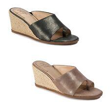 New Women's Latigo Hadrea Leather Wedge Sandal Shoes SZ 6 6.5 7 8 9