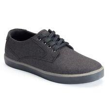 SONOMA Tillman Men's Shoes Skate Shoes Dark Grey Skateboard Sneakers Lace NEW