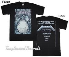 Sonisphere 2012 - Helsinki - Metallica - Men's / unisex ex festival t shirts