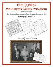 Family Maps Washington County Wisconsin Genealogy Plat