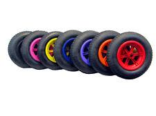 """SPOKED 14"""" Pneumatic Wheelbarrow Wheel Tyre 3.50 4.00 - 8 Inner Tube Innertube"""