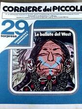 Corriere dei Piccoli 14 1978 Fumetto di Heidi - Ciccibum - Mio Mao 1935