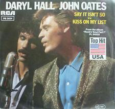 "7"" 1983! Daryl Hall & John Oates Say It Isn 't così/VG + \"