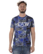 T-shirt Emporio Armani EA7 T-Shirt Sweatshirt % Uomo Blu 3ZPT66PJL8Z-2556