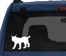 Wild Cat #1- Lynx Hunter Predator Bobcat Eurasian Canada- Car Tablet Vinyl Decal