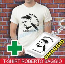 T SHIRT MAGLIA ROBERTO BAGGIO DIVIN CODINO JUVE MILAN INTER