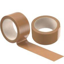 Paquete de embalaje marrón Cinta Fuerte Embalaje 48MM X 50M caja de sellado 2 4 6 12 24 36