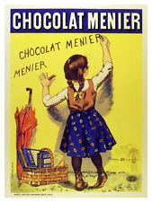 Chocolat Menier Vintage Ad POSTER. French Graphic Design.Art Decoration.3284