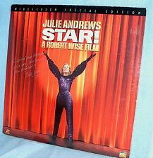 LD laserdisc STAR Julie Andrews JACKET INSCRIBED by director ROBERT WISE
