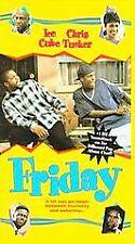Friday: Ice Cube, Chris Tucker (VHS, 1995) NEW