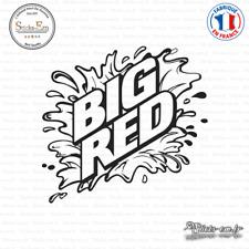 Sticker Big Red Decal Aufkleber Pegatinas D-294 Couleurs au choix