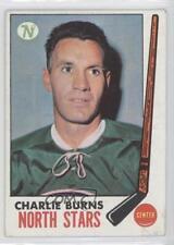 1969-70 Topps #129 Charlie Burns Minnesota North Stars Hockey Card