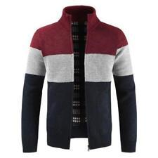 Men Winter Warm Knitted Sweater Jacket Coat Thicken Cardigan Top Overcoat Trench