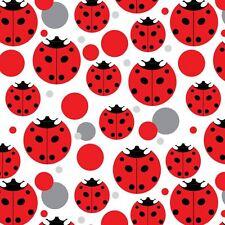 Premium Gift Wrap Wrapping Paper Roll Pattern Ladybug Ladybugs