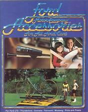 1980 Ford Auto Accessories Brochure Mustang/LTD/T-Bird