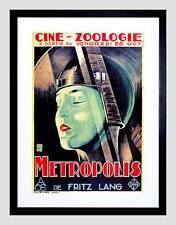 FILM METROPOLIS FRITZ LANG DYSTOPIAN FUTURE VISION FRANCE ART PRINT B12X12164