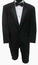 Mens Black Perry Ellis 2 Button Tuxedo Jacket Discount Prom Tux Coat Halloween