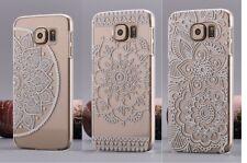 Linda Flor Diseño compatible/fits Con Samsung Galaxy S6 smartphone/floral