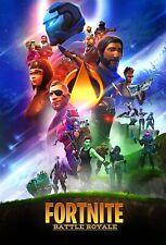 FORTNITE Battle Royale Poster Wall Art - Infinity War Parody - 11x17 13x19