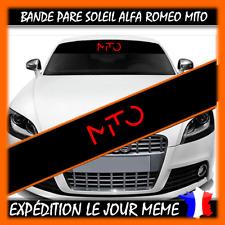 Bande Pare Soleil ALFA ROMEO MITO COULEUR AU CHOIX