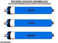 Reverse Osmosis Membrane Water Filter RO , Aquarium ,Marine ,Undersink 50 75 100
