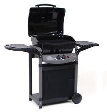 Barbecue a Gas 7.2 Kw 2 Bruciatori Saporillo Griglia + Pietra Lavica Giardino