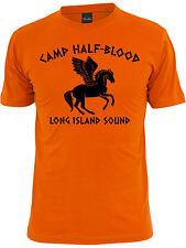 Camp Half Blood Long Island Sound- Percy Jackson Men's T-shirt.Greek Demigods.