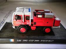 Del Prado World Fire Engines - FRANCE  1992 CCCF Iveco 80-17  code98