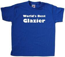 World's Best Glazier Kids T-Shirt