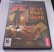 DEAD MAN'S HAND gioco pc originale westen completo FPS